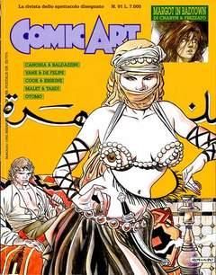 Copertina COMIC ART n.91 - COMIC ART                   91, COMIC ART