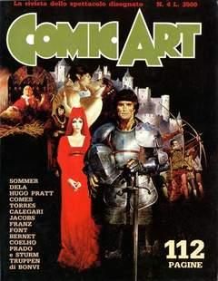 Copertina COMIC ART n.4 - COMIC ART                    4, COMIC ART