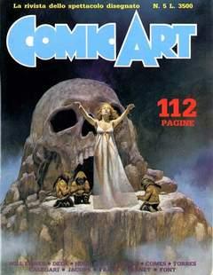 Copertina COMIC ART n.5 - COMIC ART                    5, COMIC ART