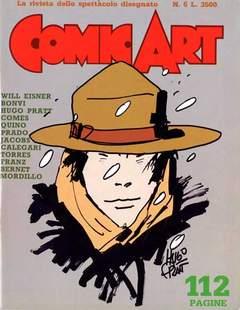 Copertina COMIC ART n.6 - COMIC ART                    6, COMIC ART
