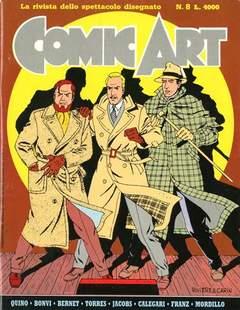 Copertina COMIC ART n.8 - COMIC ART                    8, COMIC ART