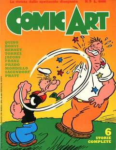 Copertina COMIC ART n.9 - COMIC ART                    9, COMIC ART