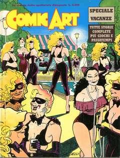 Copertina COMIC ART n. - COMIC ART SPECIALE VACANZE 88, COMIC ART