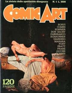 Copertina COMIC ART n.0 - COMIC ART serie completa da 1 a 181 + SPECIALE, COMIC ART