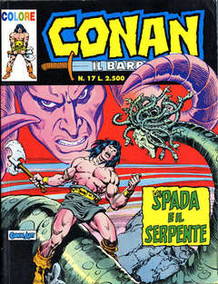 COMIC ART - CONAN IL  BARBARO