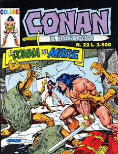 COMIC ART - CONAN IL  BARBARO