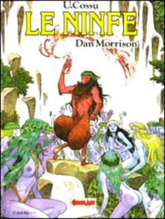 Copertina DAN MORRISON n.0 - LE NINFE, COMIC ART