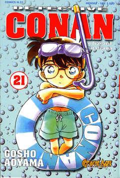 Copertina DETECTIVE CONAN n.21 - CONAN DI GOSHO AOYAMA, COMIC ART