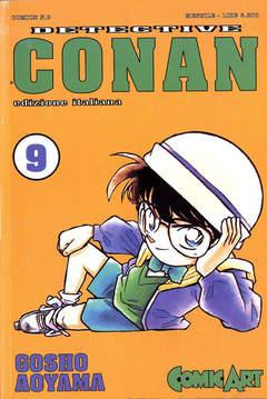 Copertina DETECTIVE CONAN n.9 - CONAN DI GOSHO AOYAMA, COMIC ART