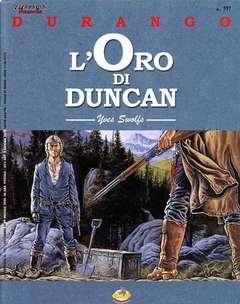 Copertina DURANGO n.9 - L'ORO DO DUNCAN, COMIC ART