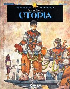 Copertina UTOPIA n.0 - UTOPIA, COMIC ART