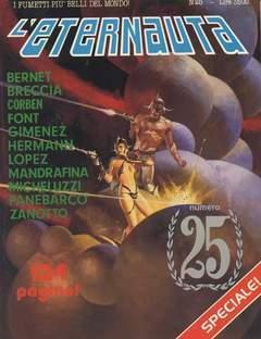 Copertina ETERNAUTA PRESENTA n.25 - L'ETERNAUTA PRESENTA        25, COMIC ART
