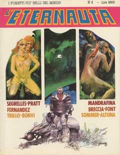 Copertina ETERNAUTA PRESENTA n.4 - L'ETERNAUTA PRESENTA         4, COMIC ART