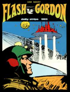 Copertina FLASH GORDON n.11 - 1985 strisce giornaliere , COMIC ART