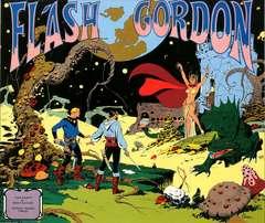Copertina FLASH GORDON di Dan Barry n.1 - GORDON 1980/81 TAVOLE DOMENICALI, COMIC ART