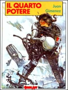 Copertina GIMENEZ n.0 - IL QUARTO POTERE, COMIC ART