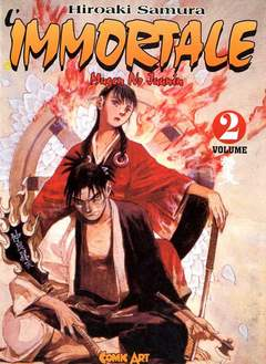 Copertina IMMORTALE COMIC ART n.2 - IMMORTALE, COMIC ART