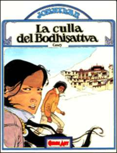 Copertina JONATHAN n.1 - LA CULLA DEL BODHISATTVA, COMIC ART
