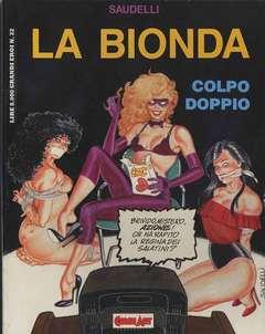 Copertina LA BIONDA n.1 - COLPO DOPPIO, COMIC ART
