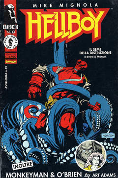 Copertina LEGEND n.8 - HELLBOY 2: SEED OF DESTRUCTION, COMIC ART