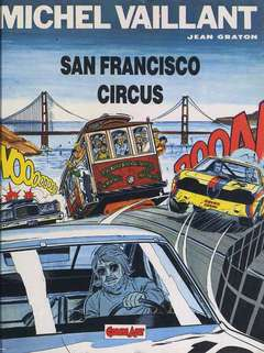 Copertina MICHEL VAILLANT n.3 - SAN FRANCISCO CIRCUS, COMIC ART