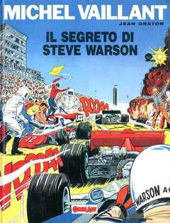 Copertina MICHEL VAILLANT n.2 - IL SEGRETO DI STEVE WARSON, COMIC ART