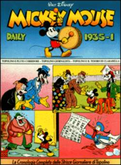 Copertina MICKEY MOUSE dally strips n.11 - Mickey Mouse dally strips 1935/1 , COMIC ART