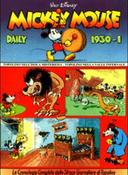 Copertina MICKEY MOUSE dally strips n.1 - Mickey Mouse dally strips 1930/1 , COMIC ART