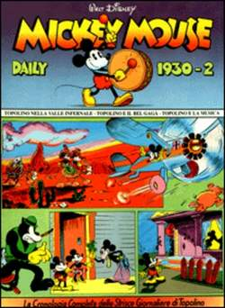 Copertina MICKEY MOUSE dally strips n.2 - Mickey Mouse dally strips 1930/2 , COMIC ART