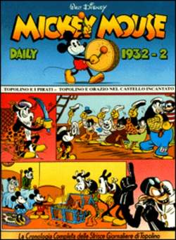 Copertina MICKEY MOUSE dally strips n.6 - Mickey Mouse dally strips 1932/2 , COMIC ART