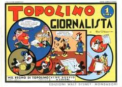 Copertina NEL REGNO DI TOPOLINO n.11 - Topolino giornalista, COMIC ART