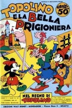 Copertina NEL REGNO DI TOPOLINO n.27 - Topolino e la bella prigioniera, COMIC ART