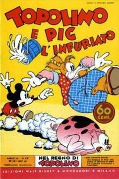 Copertina NEL REGNO DI TOPOLINO n.47 - Topolino e Pig l'infuriato, COMIC ART