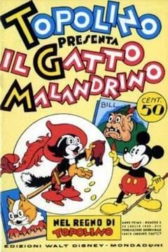 Copertina NEL REGNO DI TOPOLINO n.5 - Topolino presenta il Gatto Malandrino, COMIC ART