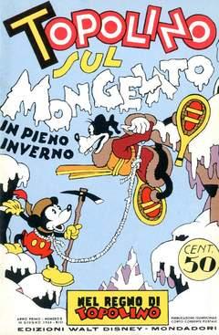 Copertina NEL REGNO DI TOPOLINO n.2 - Topolino sul Mongelato, COMIC ART