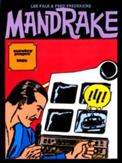 Copertina NEW COMICS NOW n.69 - MANDRAKE 1980/81 TAVOLE DOMENICALI, COMIC ART