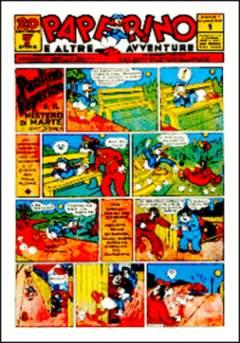 Copertina PAPERINO n.1 - PAPERINO                     1, COMIC ART