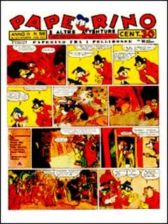 Copertina PAPERINO n.5 - Paperino di Arnoldo Mondadori - Vol. V - 1939/40, COMIC ART