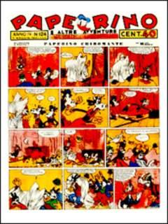 Copertina PAPERINO n.6 - Paperino di Arnoldo Mondadori - Vol. VI - 1940, COMIC ART