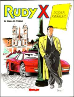 Copertina RUDY X n.1 - DOSSIER PHOENIX 13, COMIC ART