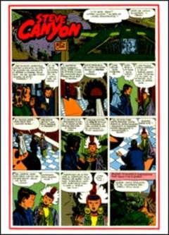 Copertina STEVE CANYON n.1 - Primo albo 1949/2 , COMIC ART