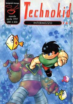 Copertina TECHNOKID M3 n.2 - TECHNOKID, COMIC ART