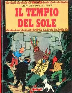 Copertina TINTIN n.3 - IL TEMPIO DEL SOLE, COMIC ART