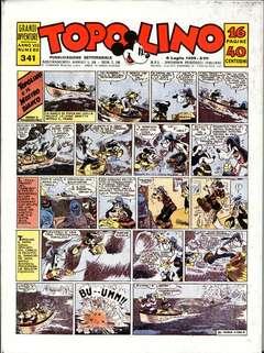 Copertina TOPOLINO GIORNALE n.13 - TOPOLINO 1939/3, COMIC ART