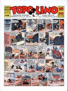 Copertina TOPOLINO GIORNALE n.18 - TOPOLINO 1940/4, COMIC ART