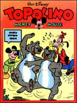 Copertina TOPOLINO n.0 - Topolino daily strips 1964, COMIC ART