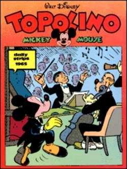 Copertina TOPOLINO n.0 - Topolino daily strips 1965, COMIC ART