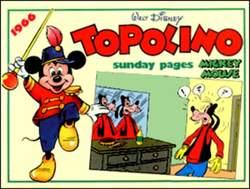 Copertina TOPOLINO n.0 - Topolino sunday pages 1966, COMIC ART