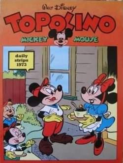 Copertina TOPOLINO n.0 - TOPOLINO 1973 STRISCE GIORNALIERE, COMIC ART