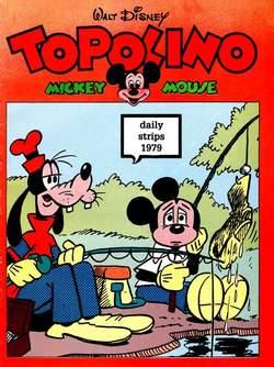 Copertina TOPOLINO n.0 - Topolino daily strips 1979, COMIC ART